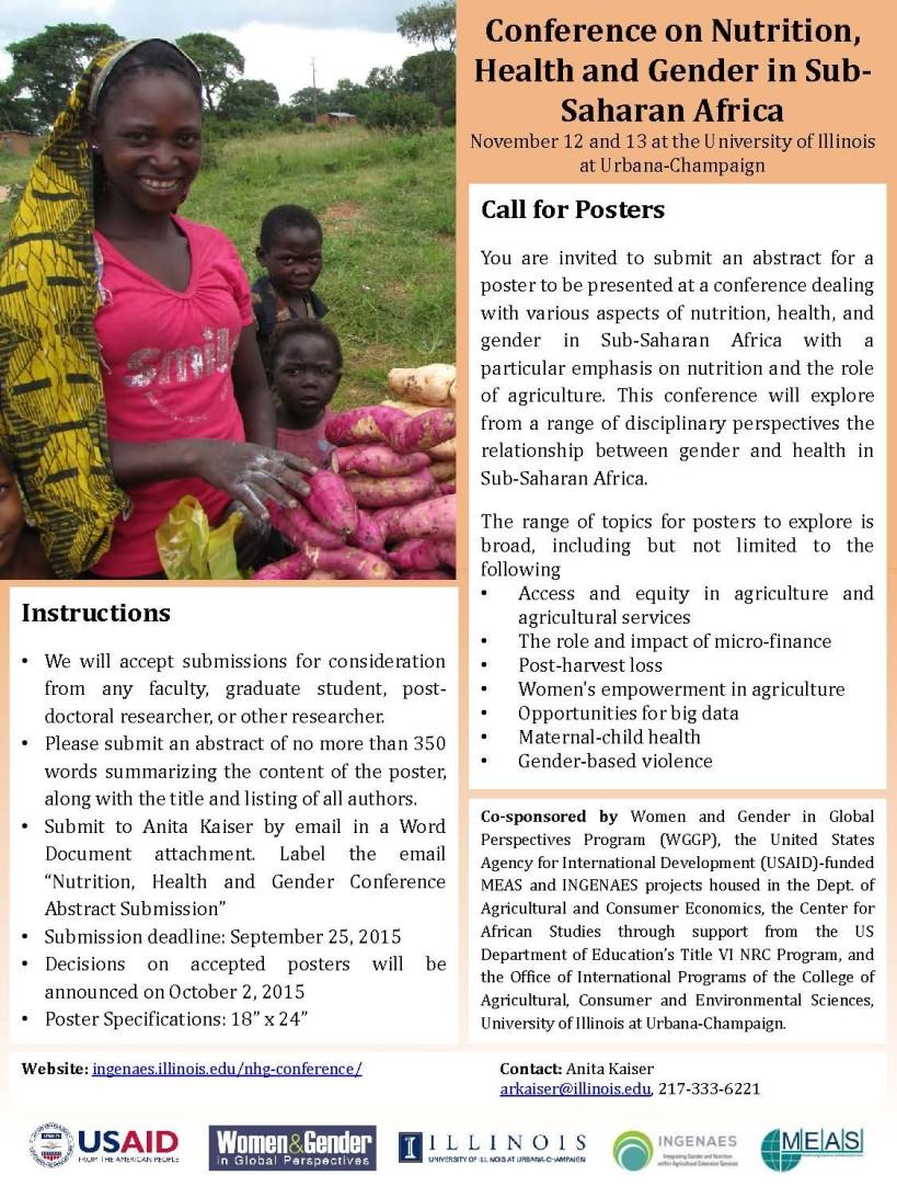 gender nutrition conference